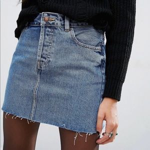 ASOS Denim Mini Skirt - NEW without tags